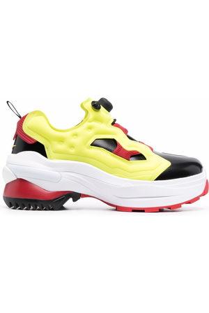 Maison Margiela X Reebok Men Sneakers - Tabi toe low-top sneakers