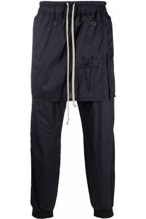 Rick Owens Men Sweatpants - High-waist track pants