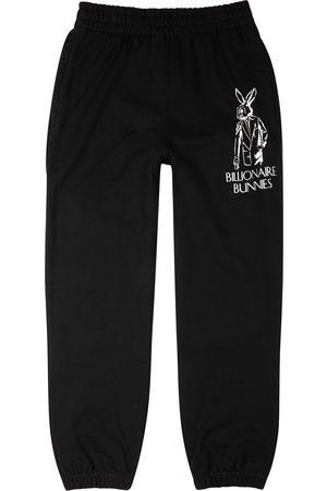 Billionaire Boys Club Men Sports Pants - Bunnies printed cotton sweatpants