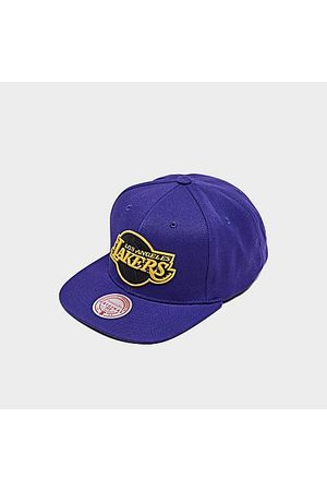 Mitchell And Ness Hats - Mitchell & Ness Los Angeles Lakers NBA Black Pop Snapback Hat in /
