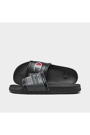 Champion Men Sandals - Men's Squish Logo Slide Sandals in / Size 9.0