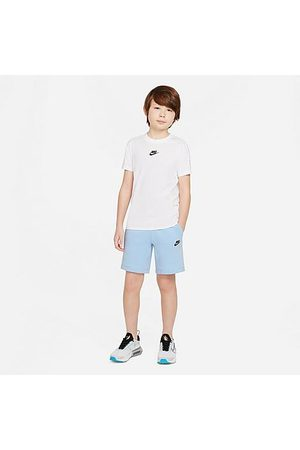 Nike Boys Sports Shorts - Boys' Sportswear Tech Fleece Shorts in /Psychic