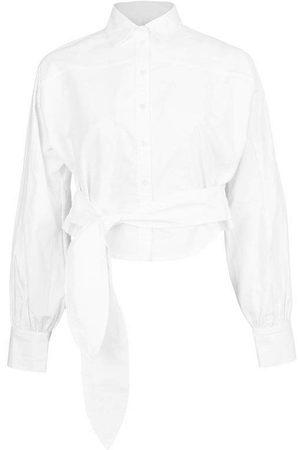 Marissa Webb Women Shirts - White Emmerson Oxford Shirt