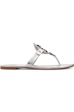 Tory Burch Women's Miller Metallic Thong Sandals - - Size 8