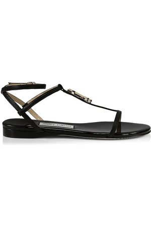 Jimmy Choo Women's Alodie Patent Leather Sandals - - Size 11