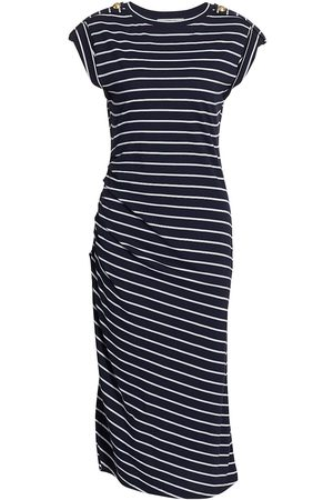 Derek Lam Women Skirts & Dresses - Women's Marion Ruched T-Shirt Dress - Navy Pale - Size XL