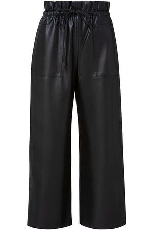 AKRIS Women Leather Pants - Women's Frey Faux Leather Pants - - Size 14