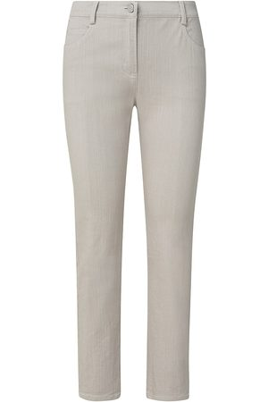 AKRIS Women Pants - Women's Maru Washed Denim Pants - Sand - Size 16