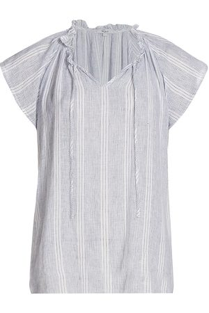 Rails Women's Raven Stripe Top - Alameda Stripe - Size XL