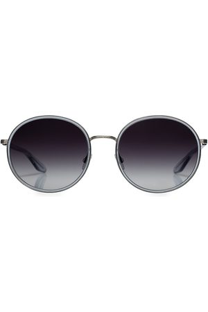 Barton Perreira Women Round - Amorfati 57MM Round Sunglasses