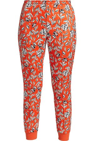 ALICE+OLIVIA Women's Tokyo High-Tech Floral Joggers - Free Swinging Sienna - Size XS