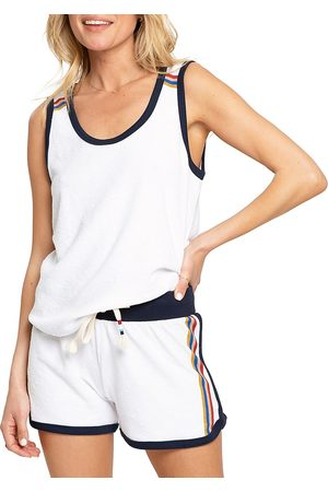 SOL ANGELES Women's Loop Terry Flag Tank Top - - Size Large