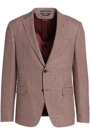 Z Zegna Men's Houndstooth Sportcoat - - Size 48