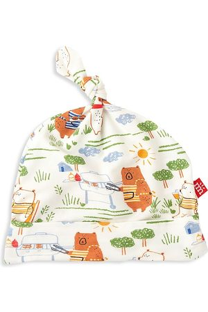 Magnetic Me Baby's BBQ Bears Hat - - Size Newborn