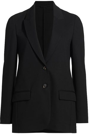 Brunello Cucinelli Women's Suit Jacket - Nero - Size 14