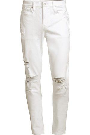 Hudson Men's Zack Distressed Skinny Jeans - - Size 36