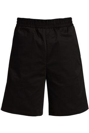 Moncler Men's Logo Tape Shorts - - Size 38