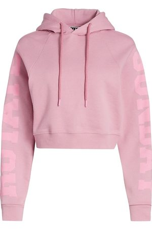 ROTATE Women's Rotate Sunday Viola Cropped Hoodie - - Size Small