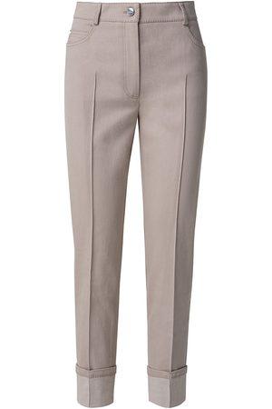 AKRIS Women's Maxima Cropped Pintuck Pants - Grey - Size 16