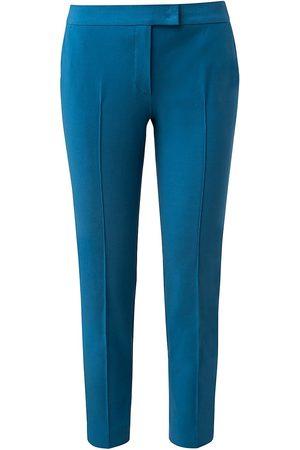 AKRIS Women's Frankie Fluid Crepe Pants - Denim - Size 14