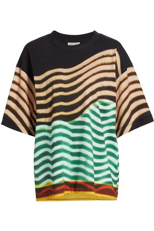 DRIES VAN NOTEN Women's Oversized T-Shirt - - Size Small