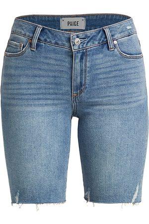 Paige Women's Jax Denim Cut Off Shorts - Martina Distressed - Size 32