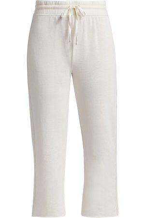 Splendid Women's Costa Mesa Cropped Sweatpants - Stone - Size Large