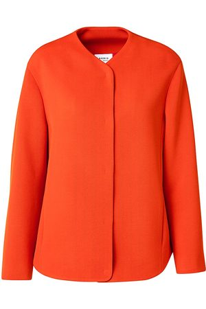 AKRIS Women's Virgin Wool Casual Coat - Currant - Size 12