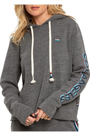 SOL ANGELES Women's Sol Flag Hoodie - Heather - Size Small