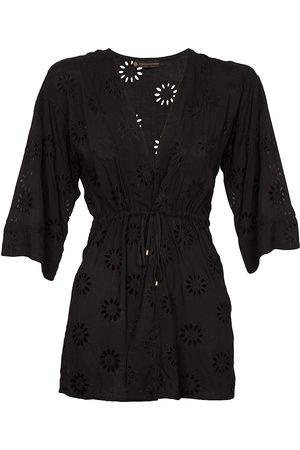 Vix Women's Lara Laser Cut Kimono - - Size XS