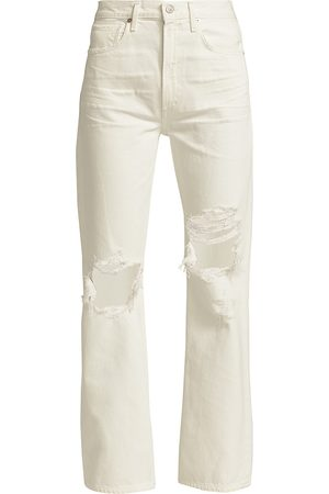 Citizens of Humanity Women's Libby High-Rise Distressed Jeans - Alfresco - Size 32