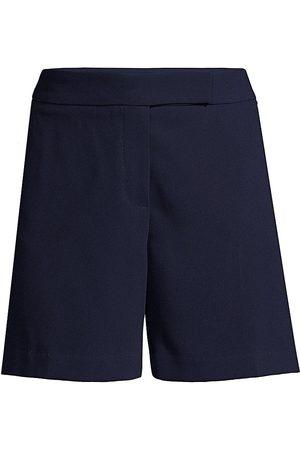 Trina Turk Women's Hermosa Dress Shorts - Indigo - Size 10