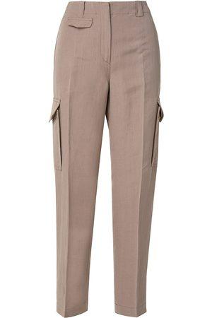AKRIS Women's Fiete Cargo Pants - Sand - Size 2