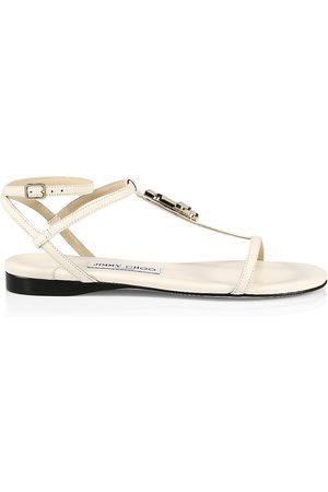 Jimmy Choo Women's Alodie Leather Sandals - - Size 11