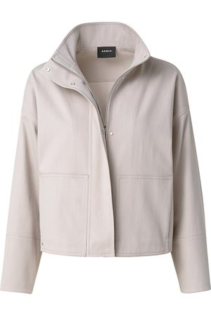 AKRIS Women's Edora Short Jacket - Nude - Size 14