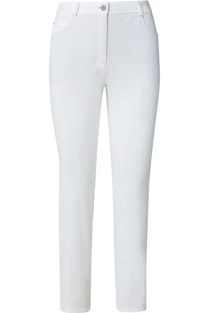 AKRIS Women's Maru Washed Denim Pants - - Size 12