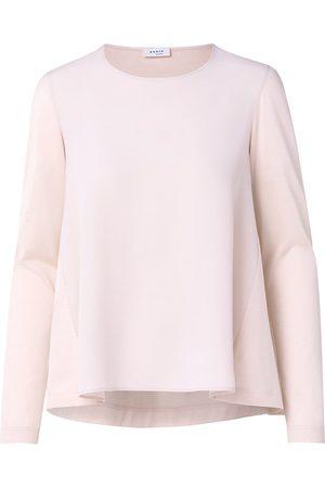 AKRIS Women's A-Line Long-Sleeve Silk Blouse - Blush - Size 16