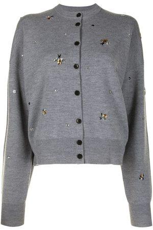 Markus Lupfer May bumblebee merino cardigan - Grey