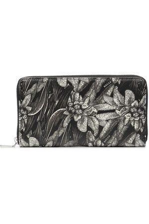 Bally Men Wallets - Floral print zip wallet