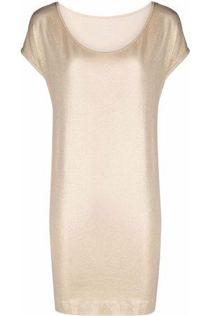 Majestic Women Short Sleeve - Ruched waist short-sleeved T-shirt