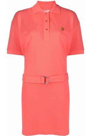 Kenzo Women Casual Dresses - Tiger patch polo shirt dress