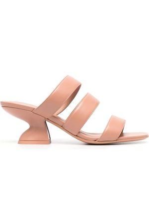 Salvatore Ferragamo Women Mules - Strap-detail open-toe mules