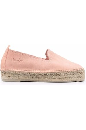 MANEBI Women Espadrilles - Hamptons leather espadrilles
