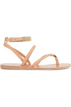 Ancient Greek Sandals Women Sandals - Ohia blush leather sandals