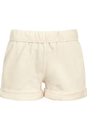 Frame Women Shorts - Off- cotton shorts