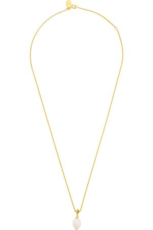 V by Laura Vann Women Necklaces - Coco pearl and 18kt gold-plated necklace