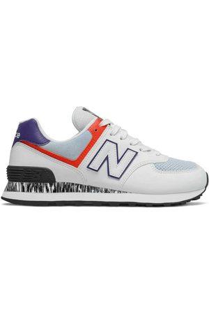 New Balance Women Running - Classic Running 574v2 EU 37 1/2 / Blue / Black / Orange