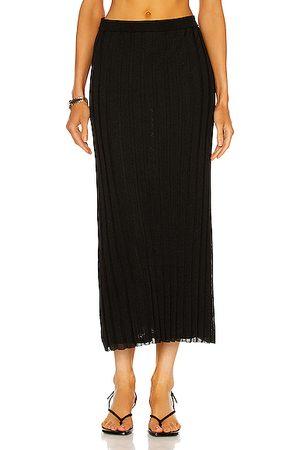 Totême Rib Knit Maxi Skirt in