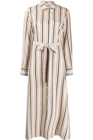 Chinti And Parker Women Casual Dresses - Striped shirt dress - Neutrals
