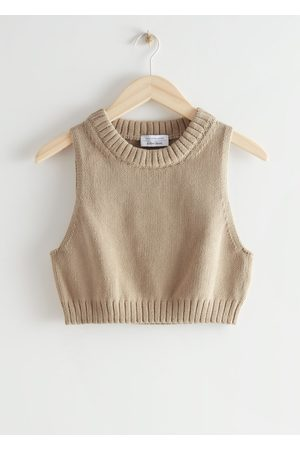 & OTHER STORIES Knitted Sleeveless Top